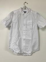 Children's Place Boy's Short Sleeve Oxford Uniform Shirt, White, Large (... - $7.80