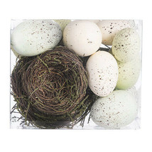 Darice Easter Nest and Eggs: 13 pieces w - $15.99