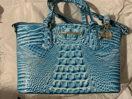 Brahmin Mini asher Cerulean tote and wallet - $166.99+