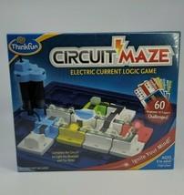 ThinkFun CIRCUIT MAZE Electric Current Logic Game - New - $26.99