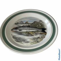 "Portmeirion Compleat Angler 10 1/2"" Dinner Plate Salmon - $83.75"