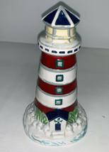 Vintage Pfaltzgraff Ocean Breeze Lighthouse Salt Shaker Replacement Single - $9.99
