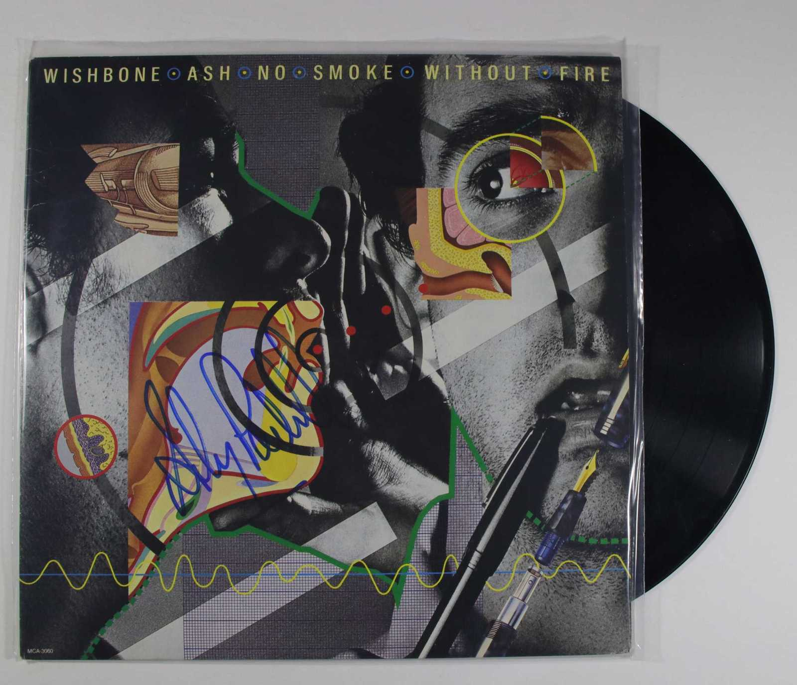 "Primary image for Andy Powell Signed Autographed ""Wishbone Ash"" Record Album"