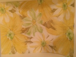 Cannon Royal Family pillowcase Yellow Floral standard - $4.95