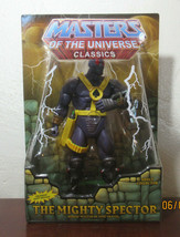 Masters Of The Universe Classics The Mighty Spector Mattel W8916 Time Tr... - $49.50