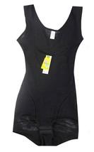 NEW WOMEN'S UNIQUE ORIGINAL CLASSIC SLIMMING BODYSUIT SHAPEWEAR BLACK STYLE #007 image 2