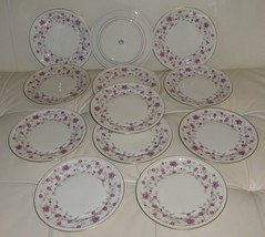 VINTAGE ROSENTHAL WINIFRED HELENA SELB GERMANY #3630 SALAD PLATES SET OF 12 - $225.00