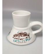 Fish mug fisherman gift for dad Fathers day gift Largemouth bass catfish... - $39.10