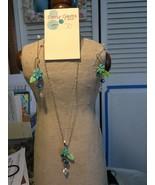 Sassy Gems pendant & earring set - $26.00