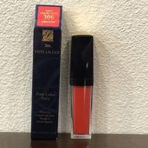 NEW ESTEE LAUDER Pure Color EnvyPaint-On Liquid VINYL LipColor306 LAVA ... - $10.95