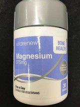 Magnesium 375mg - Unique One-A-Day Magnesium Suitable For Vegetarian - $8.42