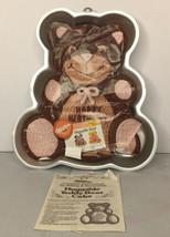 Wilton Huggable Teddy Bear Aluminum Cakepan 2105-4943 Vintage 1982 Cake ... - $14.84