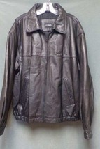 OUTBROOK Leather Waist Jacket (Fully Lined) Men's Size 2XL - $79.99