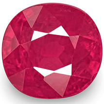 IGI Certified MOZAMBIQUE Ruby 1.13 Cts Natural Untreated Bright Red Oval - $1,554.00