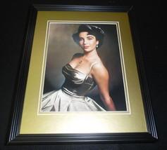 Elizabeth Liz Taylor 1948 Framed 11x14 Photo Display - $32.36