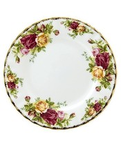 ENGLAND ROYAL ALBERT OLD COUNTRY ROSES BREAD PLATE (s) - $29.69