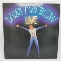 Vintage Barry Manilow Live Original Vinyl record LP set in gratefold VG + - $11.17