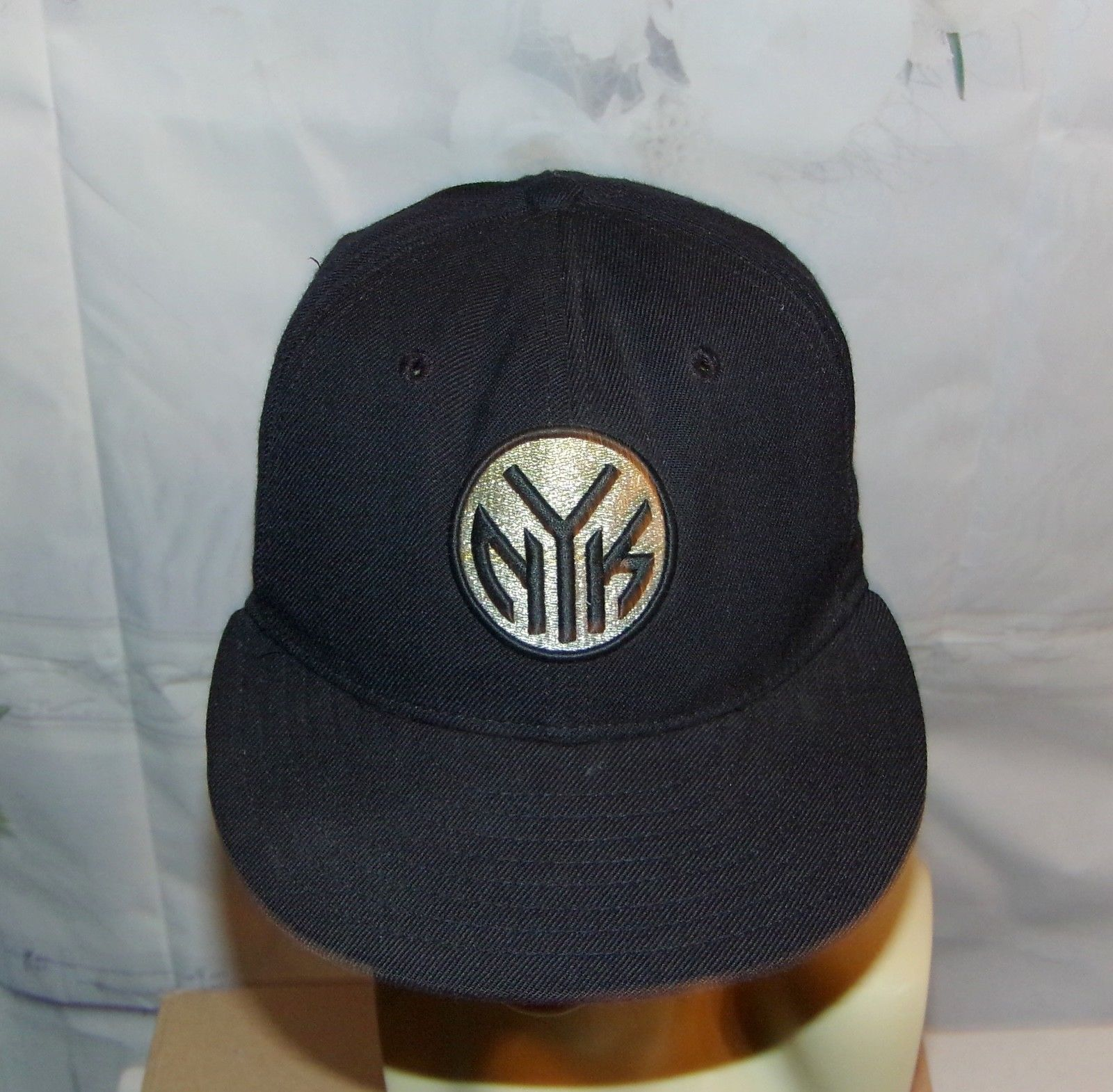 New York Knicks Hat Baseball Cap Heavy 3D like Embroidered Vintage NBA Hat