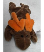 TY Beanie Baby Chocolate The Moose 1993 Mint Heart Tag - $5.93