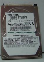 """New 60GB 2.5"""" 9.5MM IDE 44PIN Hard Drive Toshiba MK6034GAX HDD2D17 Free ... - $44.05"""