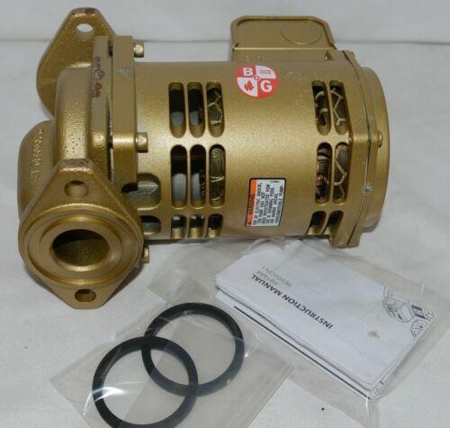 Bell Gossett Bronze Booster Pump 1/12 HorsePower 115V Bearing System