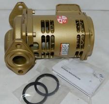 Bell Gossett Bronze Booster Pump 1/12 HorsePower 115V Bearing System image 1