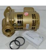 Bell Gossett Bronze Booster Pump 1/12 HorsePower 115V Bearing System - $438.10