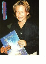 Andrew Shue Jonathan Taylor Thomas teen magazine pinup clipping Lion King book