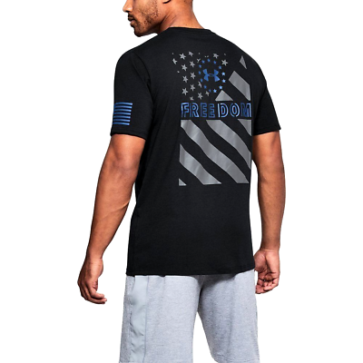Primary image for Under Armour Mens Freedom Express Flag T - Choose SZ/Color