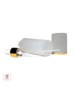 Plastic PE Refillable Spray Bottles with Pump & Overcap 5 oz Natural 5 #... - $27.95