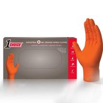 100 Nitrile Disposable Gloves Powder Free (Non-Latex / Vinyl) Orange - X... - $19.95
