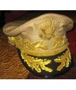 US ARMY WARRIOR GENERAL DOUGLAS MAC ARTHUR KHAKI UNIFORM HAT ALL SIZES C... - $130.00