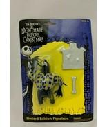 NECA 2002 Tim Burton's The Nightmare Before Christmas Werewolf Action Fi... - $14.84