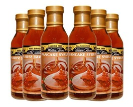 Walden Farms Calorie Free, Carb Free Pancake Syrup 6 Bottles-- 12 Oz Each - $41.68