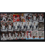 2018 Topps Update Boston Red Sox Lot Of 21 Baseball Cards W/Inserts - $17.99