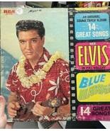 Elvis Blue Hawaii Album - $40.00