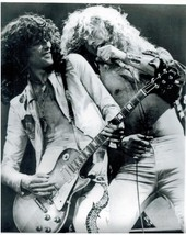 Led Zeppelin Robert Plant Jimmy Page CP Vintage 16X20 BW Music Memorabil... - $29.95