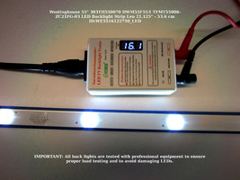 "Westinghouse 55"" DWM55F1G1 303TH550070 LED Backlight Strip [See List] - $15.95"