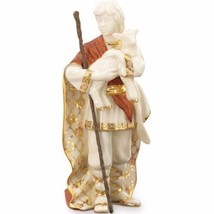 Lenox First Blessing Nativity Shepherd Boy With Lamb Figurine Staff NEW - $160.10