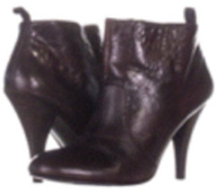 Nine West The Lineup Brown Ankle Boots - £30.39 GBP