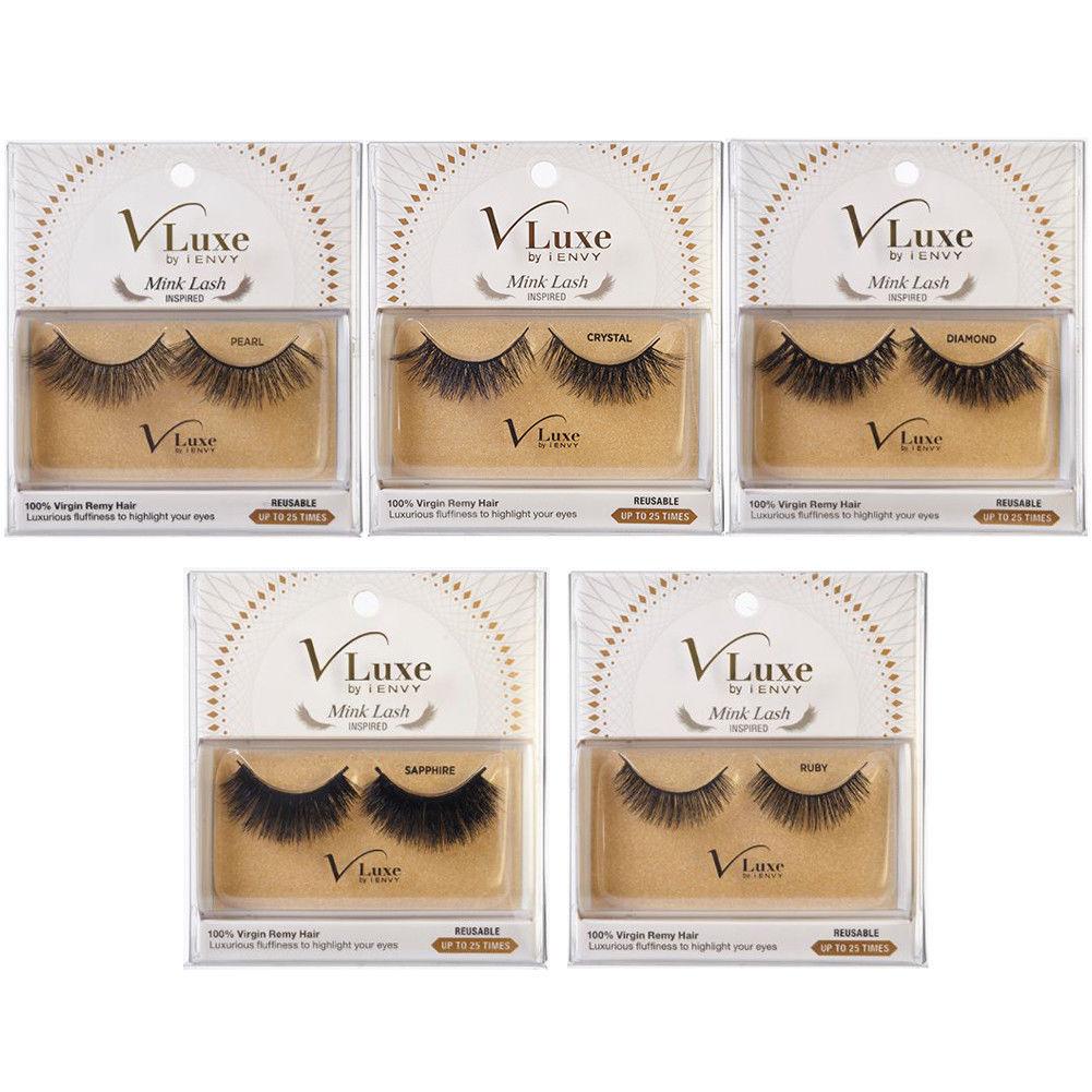 f3143fcef37 i Envy VLuxe Mink Lash 100% Virgin Remy Hair Eyelash False Makeup Reusable  *1PC