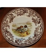 """Spode WOODLAND Pintail Dinner Plate 10.75"""" - $97.20"""