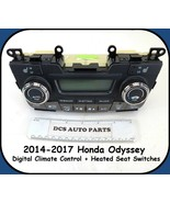 2014-2017 Honda Odyssey Digital AC Heat Temp Climate Control Heated Seat... - $49.45