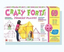 Crazy Forts CF2 Princess Playset 69 Piece Set Pink For Kids Ages 5 yr An... - $52.98