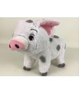 "Disney Store Moana Pua Pig Plush 9"" Stuffed Animal Toy White Gray Spots ... - $19.75"