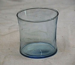 """Vintage Style Light Blue Drinking Glass Glassware 3-1/4"""" Tall - $8.90"""