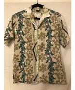 Aloha Friday's Winnie Fashion Aloha Hawaiian Kukui Lei Medium Shirt - $19.80