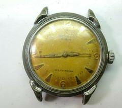 Benrus Cf 1 Automatic Movement Watch For Restoration Original Patina Dial Cf 1 - $111.27