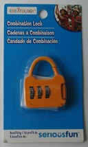 New Creatology Combination Lock - Orange - $3.00