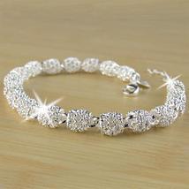 Beautiful Elegant 925 Silver Bracelet - $18.54
